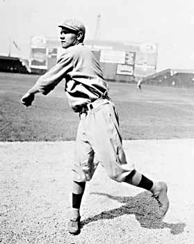 the baseball career of george herman babe ruth jr Profile george herman ruth, jr or babe ruth, as he was best known, also carried the monikers the bambino and the sultan of swat he played from 1914–1935.