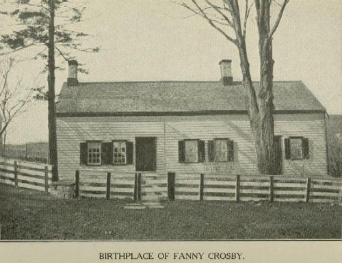fanny crosby Frances jane fanny crosby was born on march 24, 1820, in putnam county,  new york having lost her eyesight at the age of six weeks,.